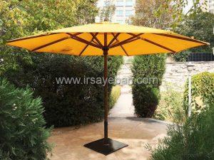 سایبان چتری پایه وسط