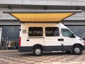 سایبان برقی فول باکس خودرو پخش غذا
