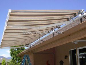 نصب سایبان برقی ویلا در لواسان