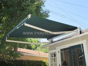 نصب سایبان برقی آفتابگیر